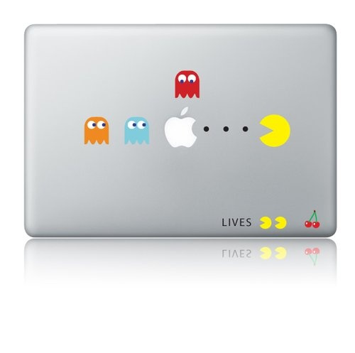 Shoply.com -Pacman macbook decal sticker. Only $9.90