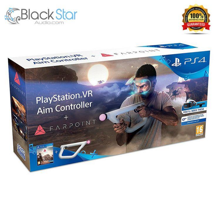 Farpoint + Sony PlayStation VR Aim Controller (PSVR) #PlayStation