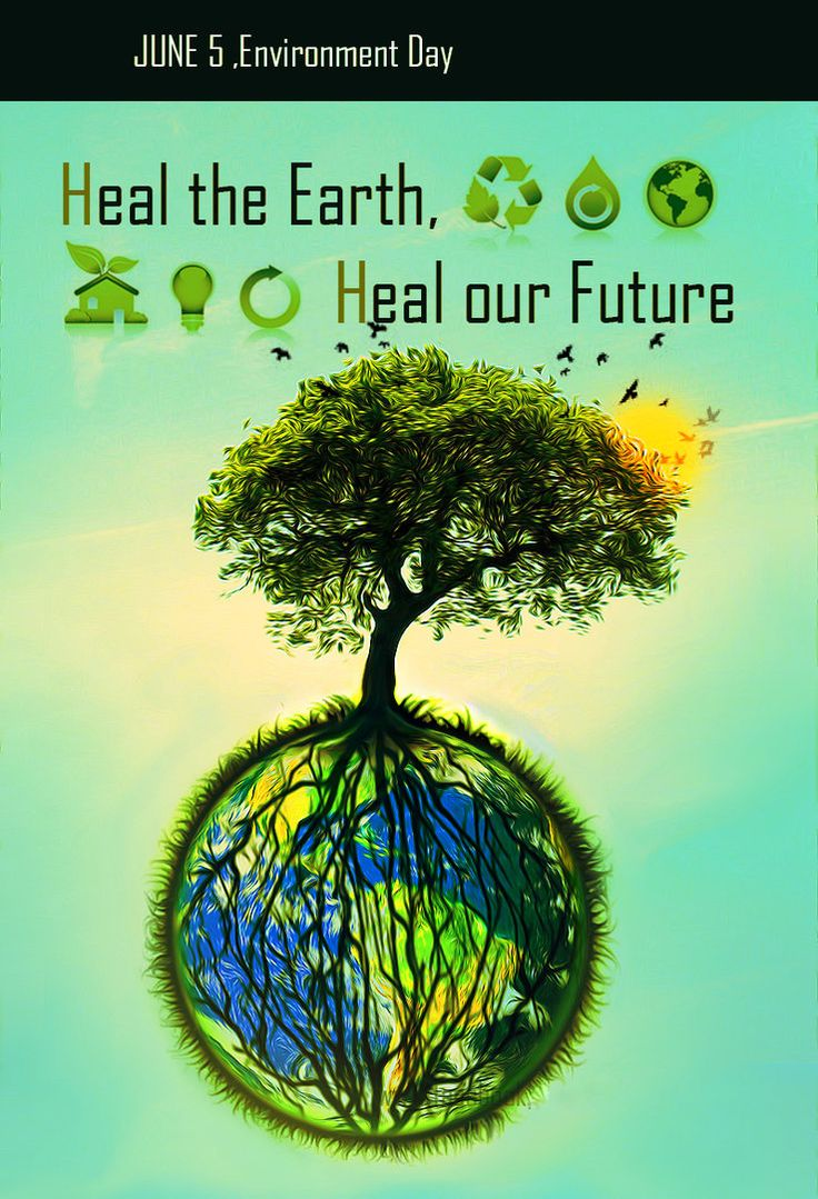 environment day poster by love
