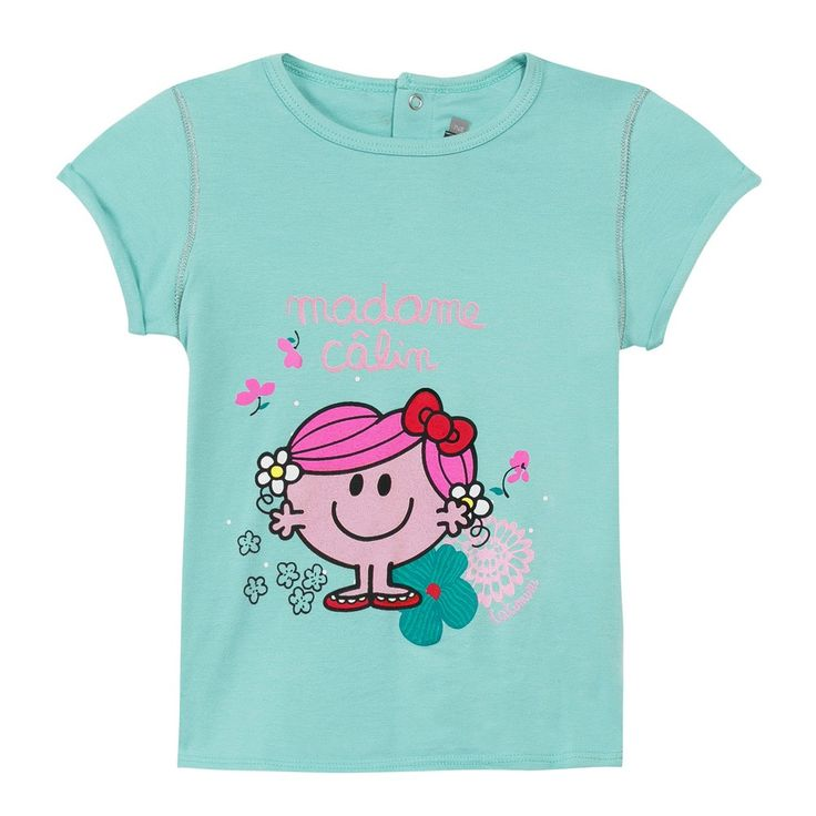 Little Miss Hug' T-shirt Vert d'eau Catimini