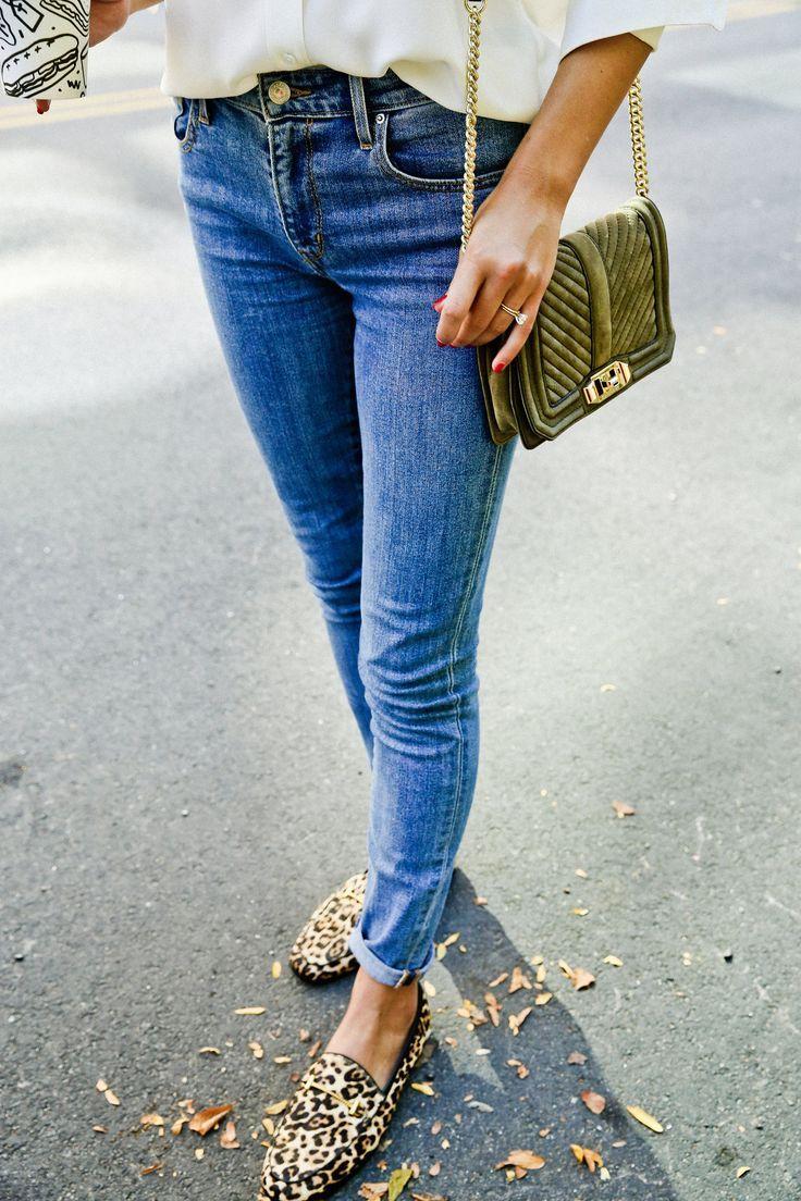 Rebecca Minkoff bag and leopard loafers #fallstyle #styleblogger