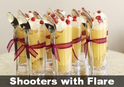 Cheesecake Shooters. Smarty Had A Party Tiny Barware Plastic #ShotGlasses