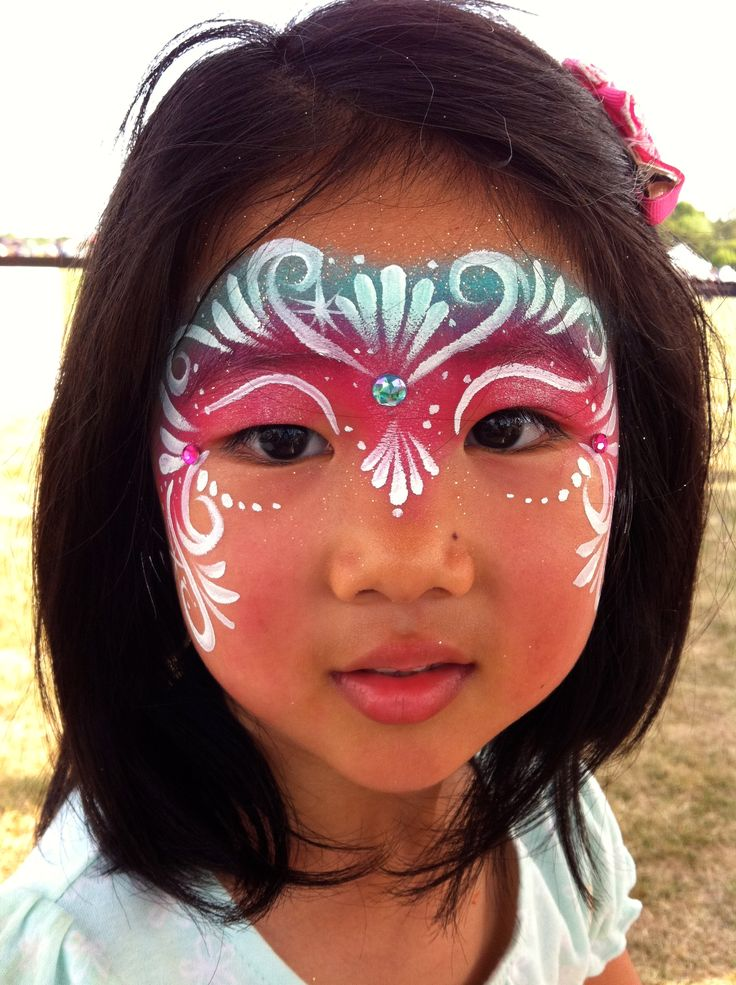 25 best ideas about princess face painting on pinterest for Fairy painting easy