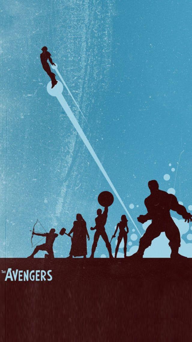 Phone Wallpaper background avengers