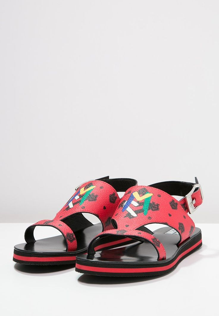 Love Moschino Sandals - red for with free delivery at Zalando