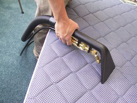 Tips to clean Upholstery:  GREASE OR OIL: Sprinkle salt, cornstarch or talcum powder on the spot as soon as you discover it. Rub in carefully, allow grease to lift off upholstery and absorb into spot remover. Brush off grease and powder and wipe with a damp cloth.