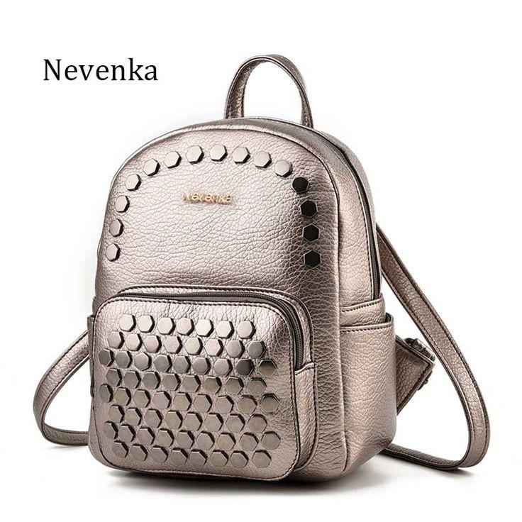 Nevenka Modefrauentasche Mini Schulrucksack Pu-leder Schüler Schulter Casual Rucksäcke Für Preppy Jugendliche Mädchen Sac