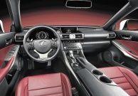 New Lexus IS interior