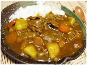 """""""Good-old-home-cooking curry nostalgic a long time ago """"昔懐かしいおふくろの味カレー/カレーライス"""