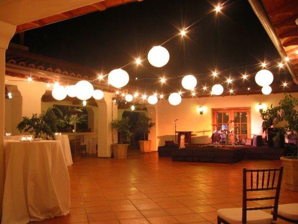 verlichting versiering bruiloft
