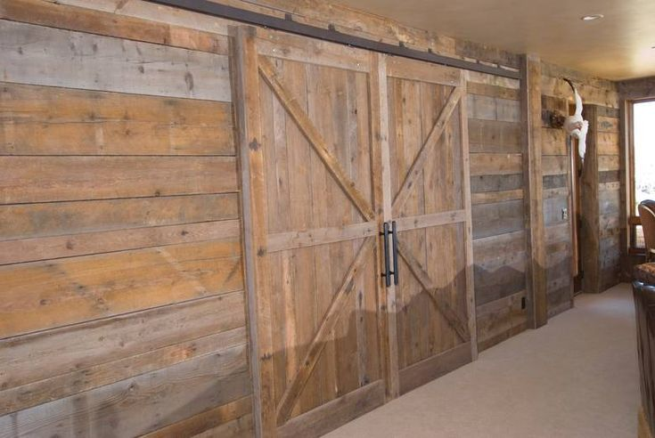 Barn Wood Paneling | Photoset #480 - Barnwood Paneling and Ceiling