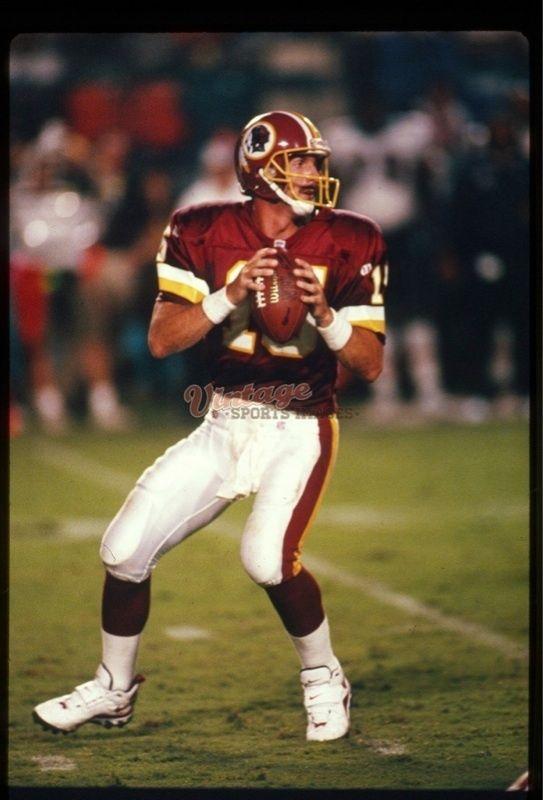 JEFF HOSTETLER - Washington Redskins - Vintage Slide