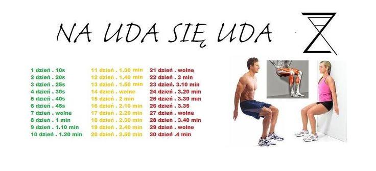30 dni ćwiczeń na uda