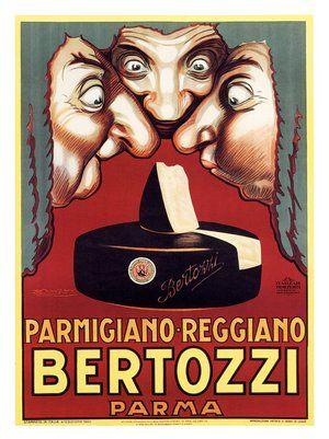 Bertozzi, Parmesan Cheese Advert