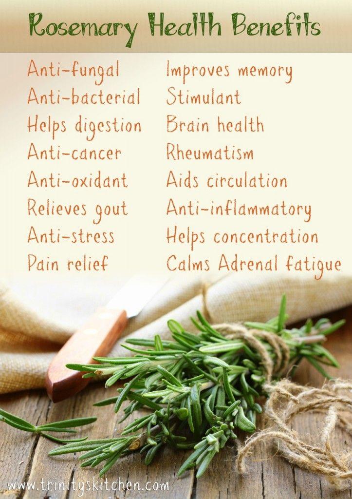 Rosemary-benefits - I love rosemary and lemon water!!!