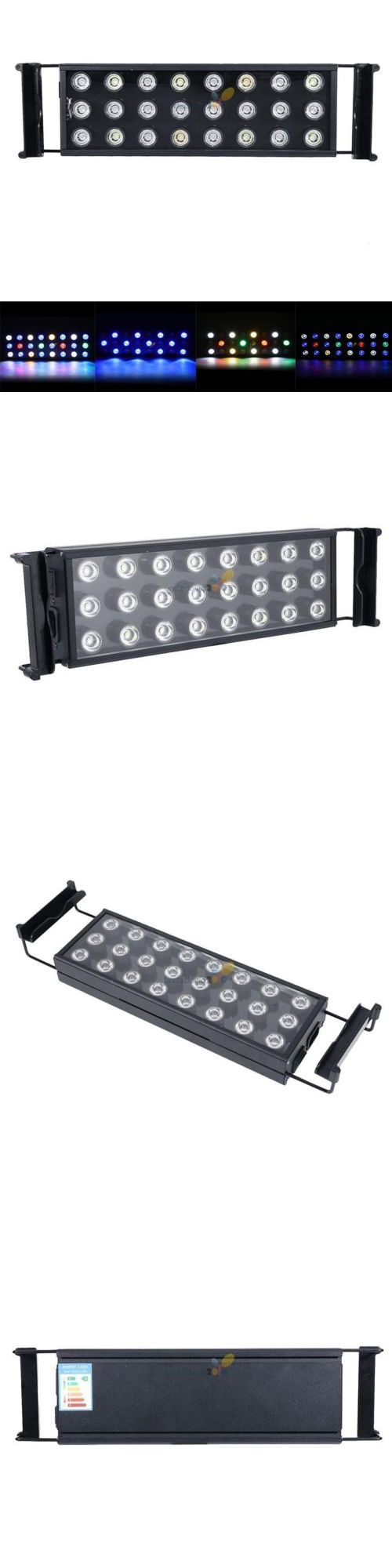 Animals Fish And Aquariums: 72W 24 Inch Led Aquarium Light Bar Remote For Fish Coral Salty Tank Sps Lps BUY IT NOW ONLY: $39.94