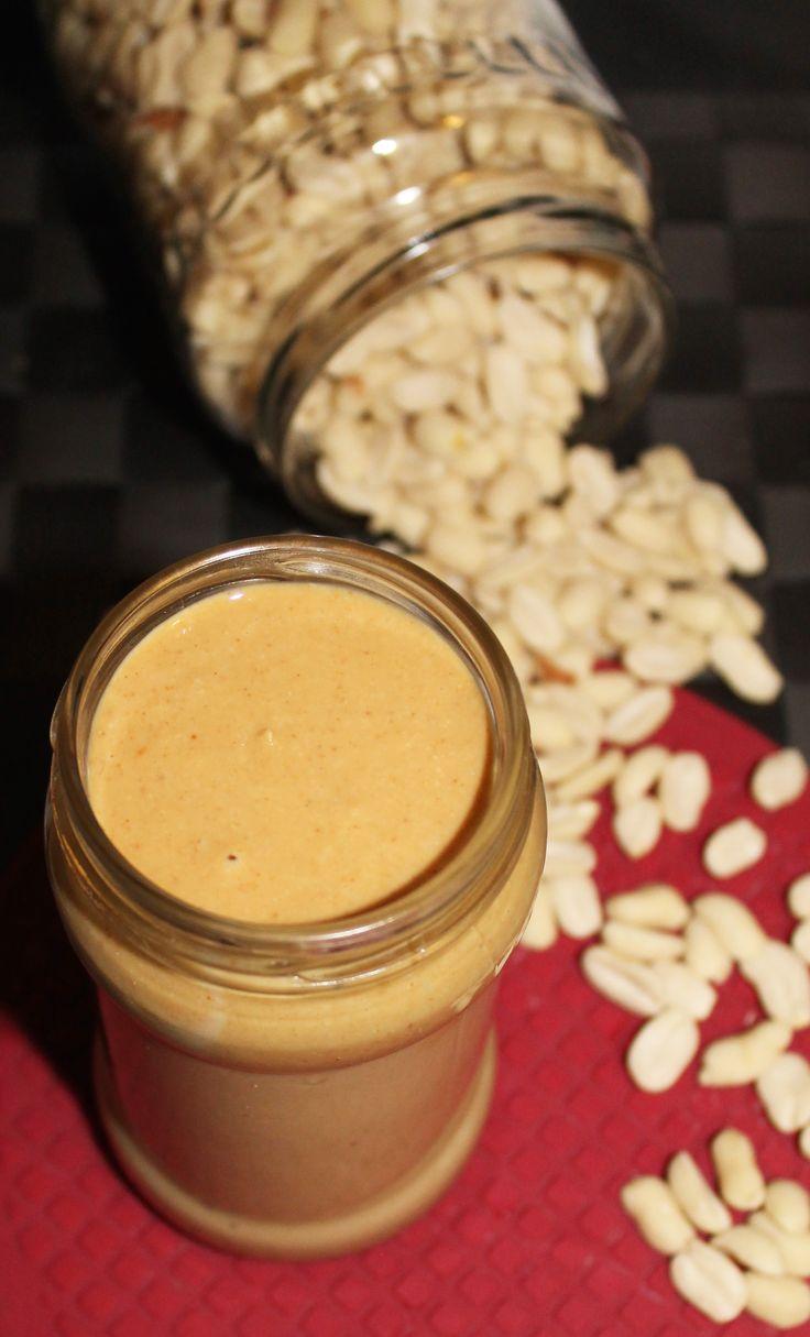 Unt de Arahide dulce-sarat cu Aroma de Caramel (fara zahar, fara ulei, 100% natural) |