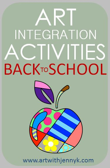 A big collection of contemporary back-to-school art and art integration activities.