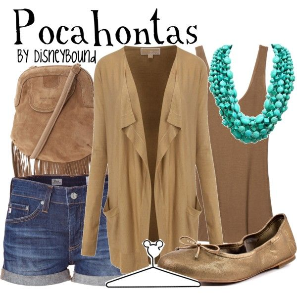 Pocahontas, created by lalakay on Polyvore #disney