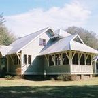 High Springs, FL Cracker Style House - Traditional - Exterior - by George F. Gillespie Residential Design