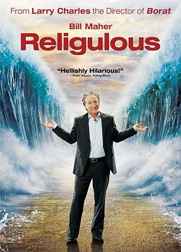 Religulous - A hilarious documentary about Bill Maher's take on the current state of world religion. He travels around the globe interviewing people about God and religion. Known for his astute analytical skills, irreverent wit and commitment to never pulling a punch, Maher brings his characteristic honesty to an unusual spiritual journey- watch free at: http://www.filmsforaction.org/watch/religulous_by_bill_maher_full_movie/