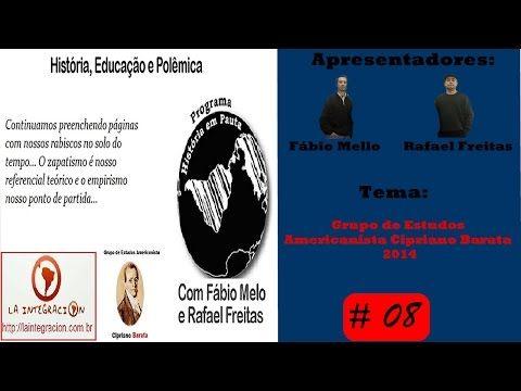 Programa História em Pauta Nº 8 (Grupo de Estudos Americanista Cipriano Barata) - YouTube