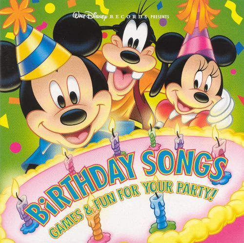 Birthday Songs: Games & Fun for Your Party! [CD]