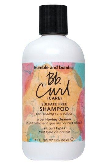 BUMBLE AND BUMBLE CURL SHAMPOO. #bumbleandbumble #