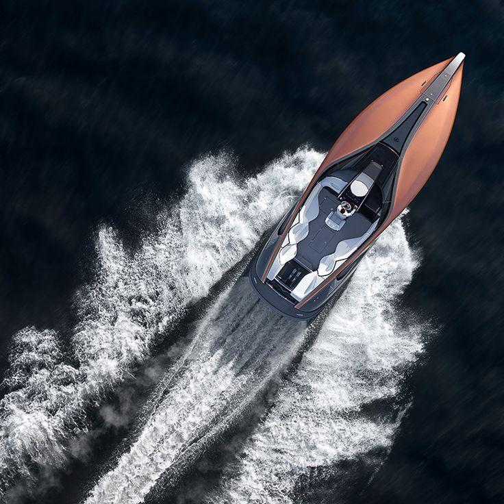 lexus sport yacht concept designboom