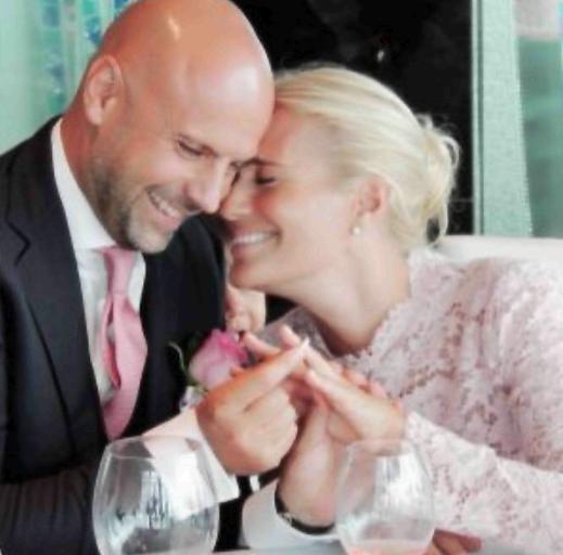 Heather Parisi festeggia il secondo anniversario di nozze. Heather Parisi e Umberto Maria Anzolin festeggiano