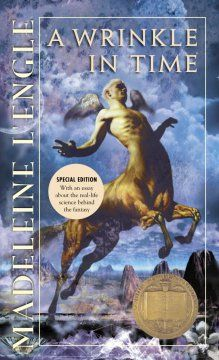 A Wrinkle in Time (The Time Quintet, Book 1) by Madeline L'Engle (AR Level 4.7)