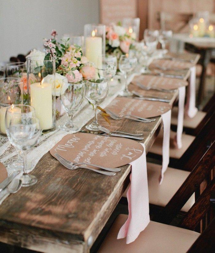 Tischdeko f r eine hochzeit party pinterest wedding - Hochzeit bastelideen ...