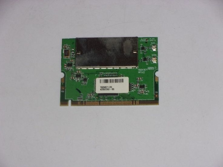 Acer TravelMate 2350 Wireless WiFi Card T60N871.03