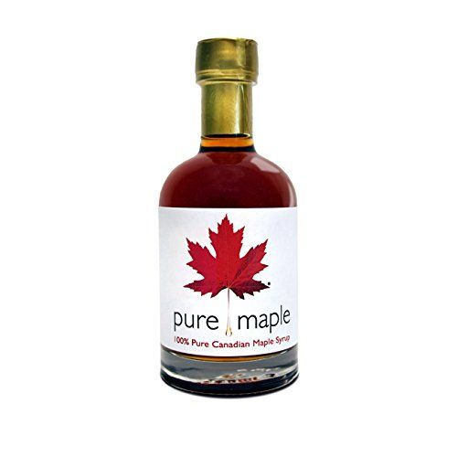 AWARD WINNING Maple Syrup Pure Canadian / Canadien / Quebec Maple Syrup Canada Grade A Amber Rich Taste 100% Natural - 330g / Sirop D'érable Canadien Pur / Ahornsirup / Sciroppo D'acero Puro / Jarabe de Arce Puro / Grade A Qualité Une / Klasse Ein / Grado Un / Grado Un! Ideal for Shrove Tuesday / Pancake Day!
