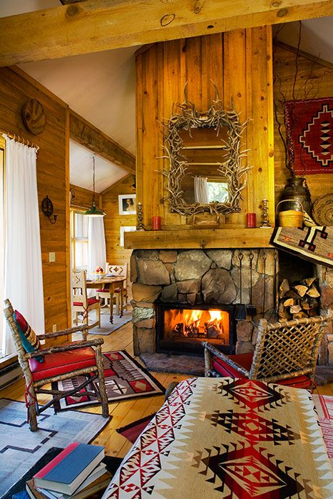 700 best images about montana style refined rustic on for Lodge style fireplace ideas