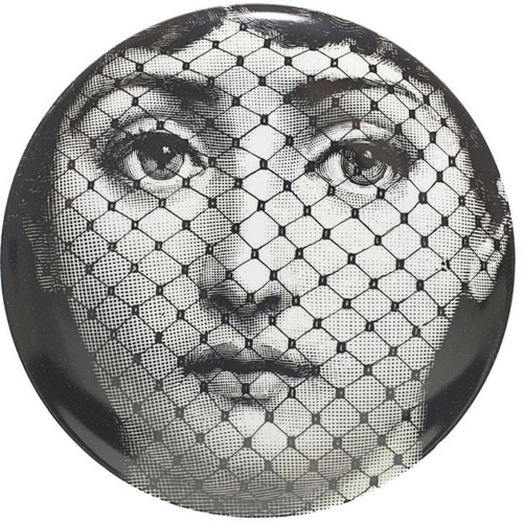 fornasetti decorative plate (set of Barneys  sc 1 st  Pinterest & 129 best Fornassetti images on Pinterest | Piero fornasetti ...