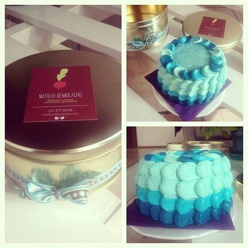 Natalio Remolacho Ombre Cake