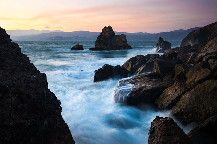 The Lands End Trail is a fairly easy 3 mile hike along the coastline of SF. The highlights of the trail include access to China Beach, views of the Sutro Baths and the Golden Gate.