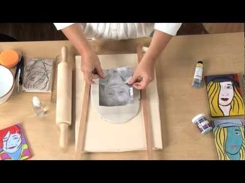 Very cool : Pop art on ceramic clay