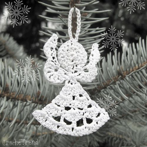 The 275 Best Ornaments Crochet Images On Pinterest Xmas