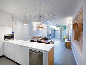 urban house - Kitchen - Sydney - elaine richardson architect