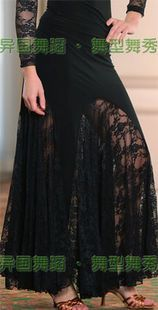 Юбки бальные танцы средней длины юбка современный танец практика юбка кадриль одежда большой юбка s11057