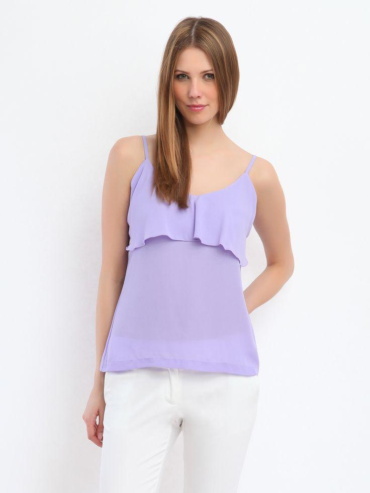 Top Secret S026650 Purple Blouse