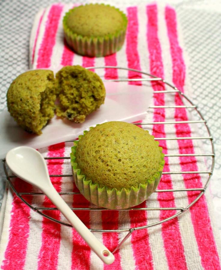 Japanese Matcha Steamed Cake (Mushi Pan)