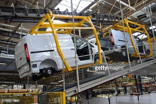06-24 Valenciennes, France - March 30th, 2016: Cars production... #sevel: 06-24 Valenciennes, France - March 30th, 2016: Cars… #sevel