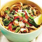 Thai Crab Pasta Recipe | Dinner in 30 Minutes - Clean Eating