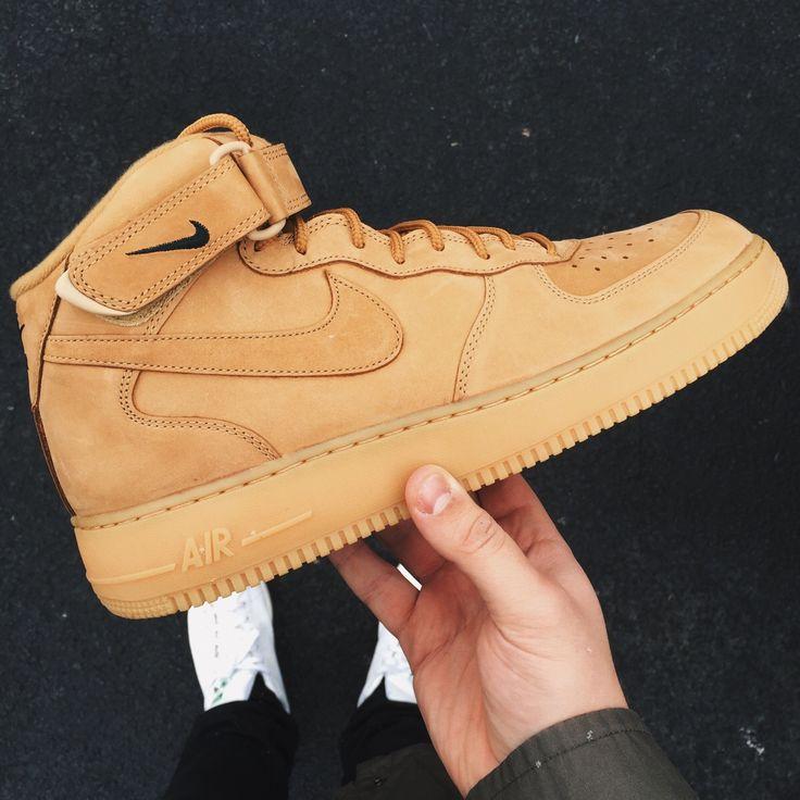"""LPU : Nike Air Force One mid """"Flax"""" - Imgur"""
