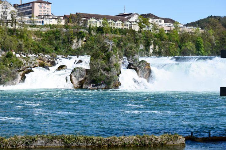 **Rheinfall (waterfall 30 minutes north of Zurich) - Neuhausen, Switzerland