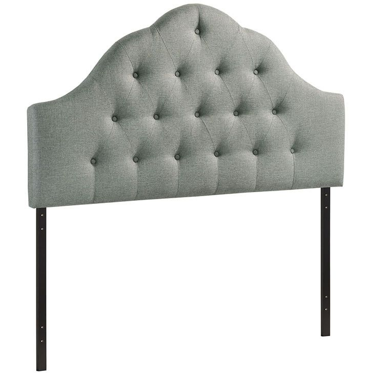 Modern Upholstered Padded Textured Fabric, Headboards, Sovereign Only 10 In Stock Order Today! Product Description: Spend more time reading and relaxing before sleep with the beautifully designed high