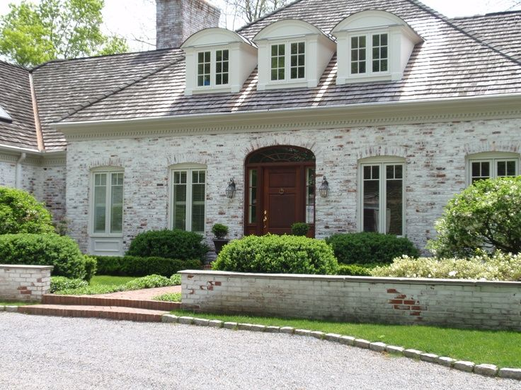 21 best images about house exterior ideas on pinterest for French country brick exterior